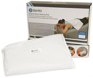 BodyMed White Digital Electric Moist Heating Pad