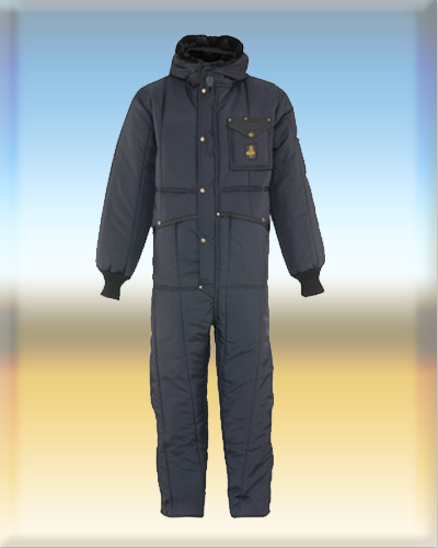 RefrigiWear Mens Iron-Tuff Insulated Coveralls