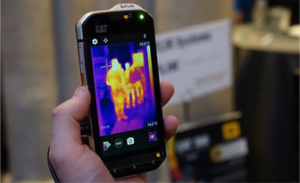 first thermal imaging phone