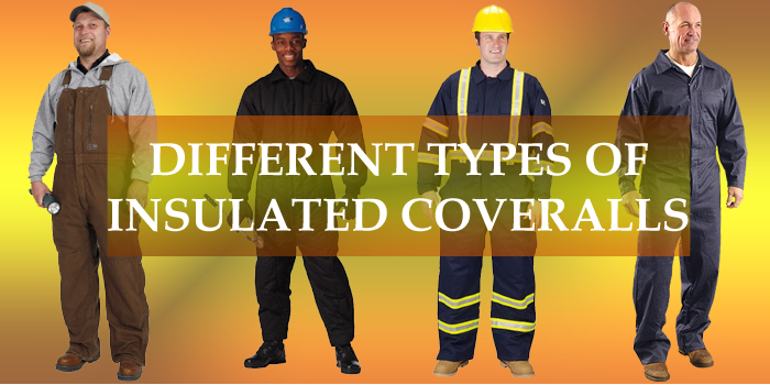 insulated coveralls types