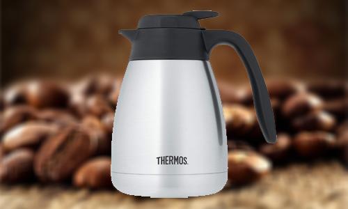 Thermos coffee