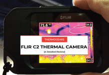 flir c2 thermal camera review
