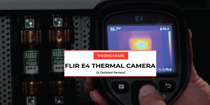 flir e4 thermal camera review