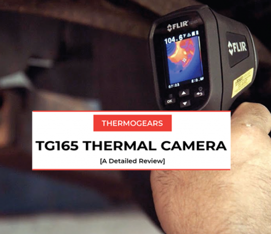 tg165 thermal camera review