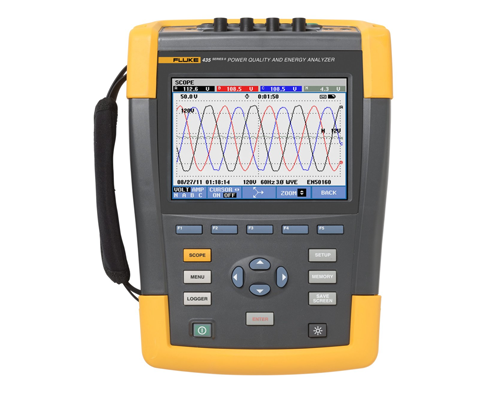 Fluke 435 Series II Three Phase Power Quality