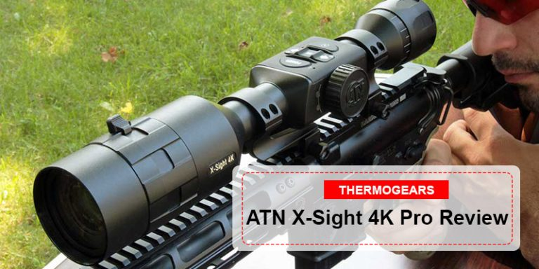 ATN X Sight 4K Pro Rifle Scope