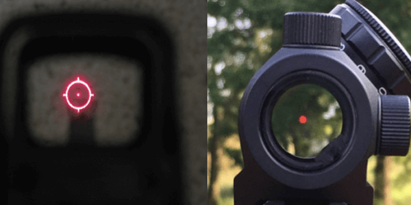 Red Dot Sight vs Holographic Sight
