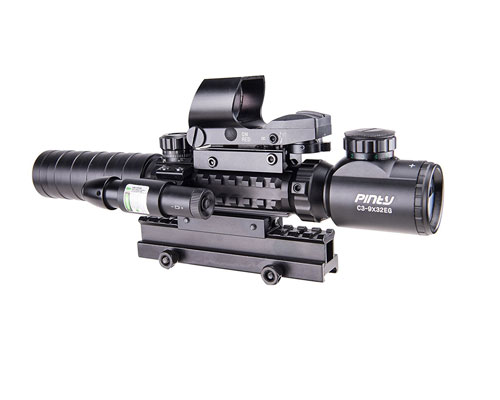 AR15 Rangefinder Laser Scope