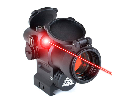 AT3 LEOS Red Dot Integrated laser scope