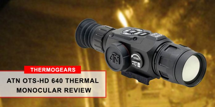 ATN OTS-HD 640 Thermal Monocular