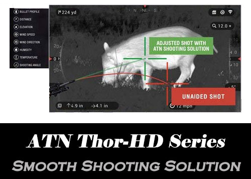 ATN Thor - Smooth Shooting Solution