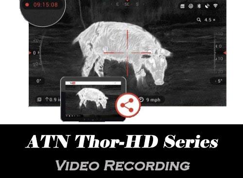ATN Thor - Recording Video