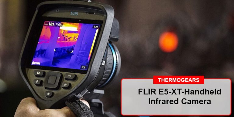 FLIR E5 XT handheld infrared camera