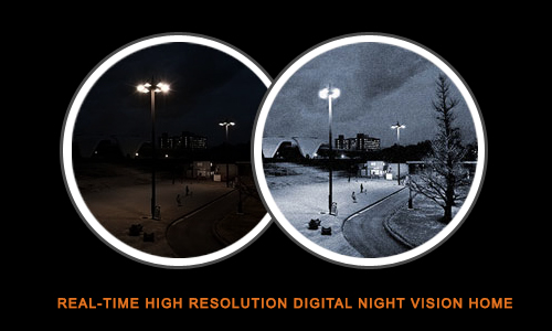 Real-time High Resolution Digital Night Vision Home