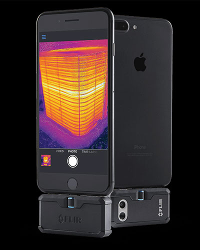 flir one pro thermal camera
