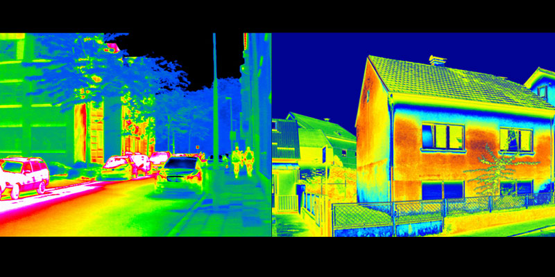 ir vs thermal image