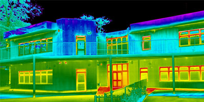 thermal imaging for building