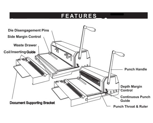 Akiles Thermal Binding Machine