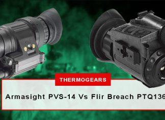Armasight-PVS-14-night-vision-Vs-Flir-Breach-PTQ136-thermal-imaging-monocular