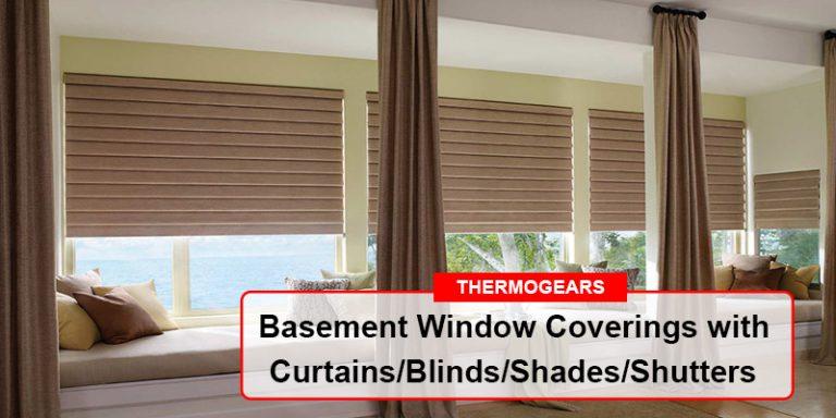 Basement Window Coverings