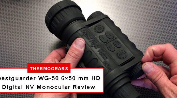 Bestguarder WG-50 6×50 mm HD Digital Night Vision Monocular Review