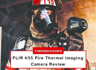 FLIR K55 Fire Thermal Imaging Camera