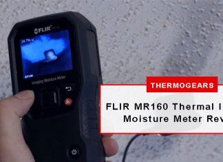 FLIR MR160 Thermal Imaging Moisture Meter Review