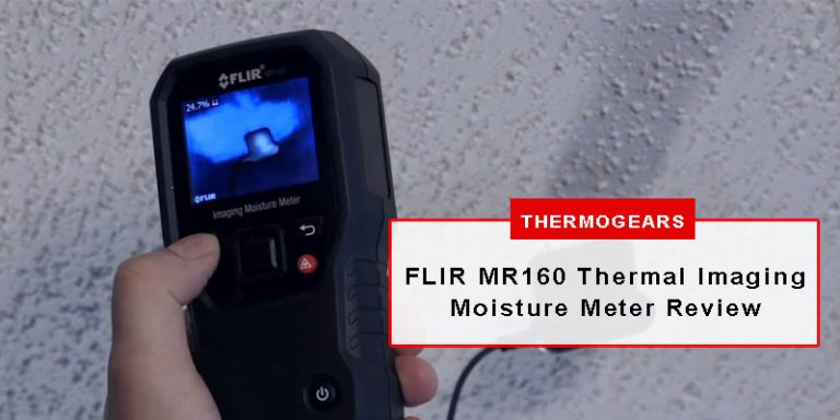 FLIR MR160 Thermal Imaging Moisture Meter Review