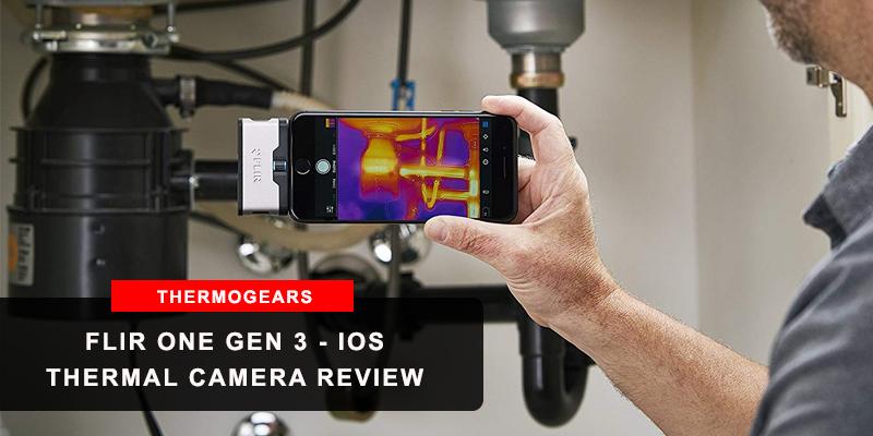 FLIR ONE Gen 3 - iOS - Thermal Camera