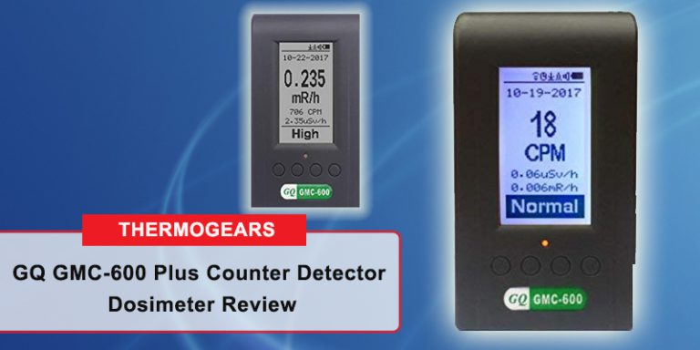 GQ GMC 600 Plus Counter Detector Dosimeter Review