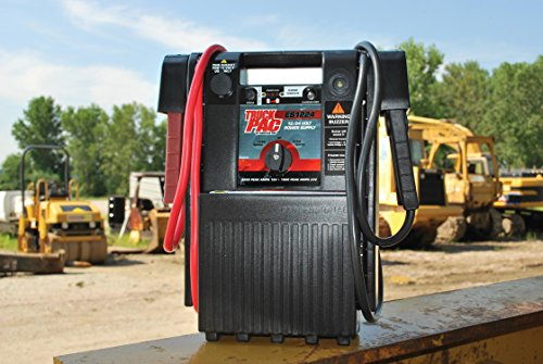 Heavy Duty 12 and 24 Volt Jump Starting