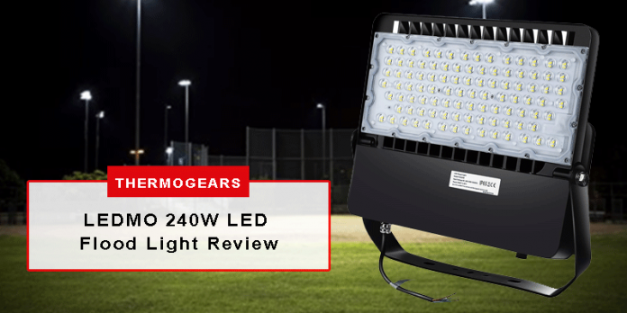 LEDMO 240W LED Flood Light Review