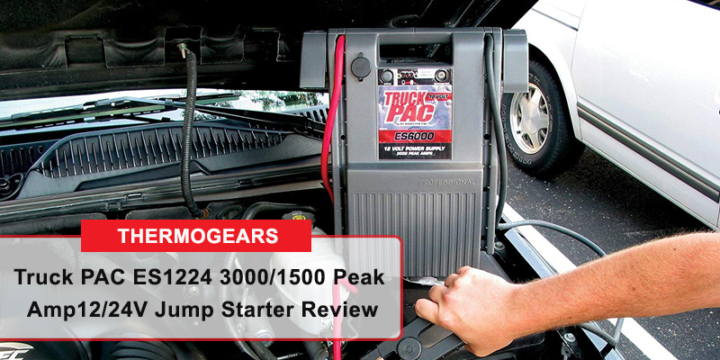 Truck PAC ES1224 3000/1500 Peak Amp 12/24V Jump Starter Review