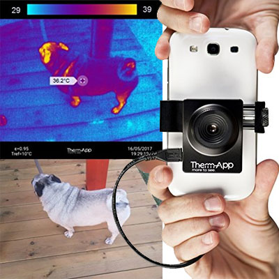 Therm-App TA19A17Q-1000 Thermal Imaging Device