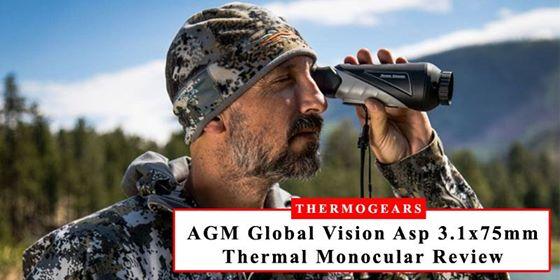 AGM 3.1x75mm Long Range Thermal Imaging Monocular