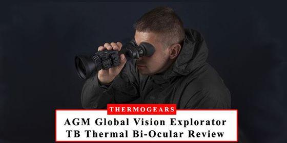 AGM Global Vision Explorator TB Thermal Imaging Bi-ocular