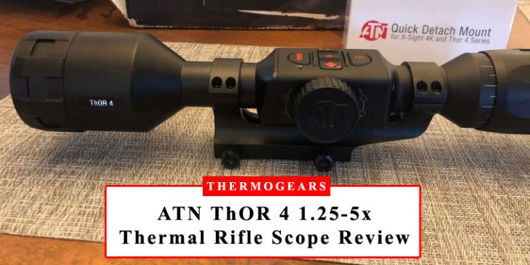 ATN ThOR 4 1.25-5x Thermal Rifle Scope Review