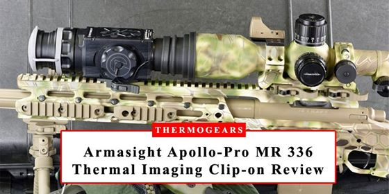 Armasight Apollo Pro MR 336 Thermal Imaging Clip on System