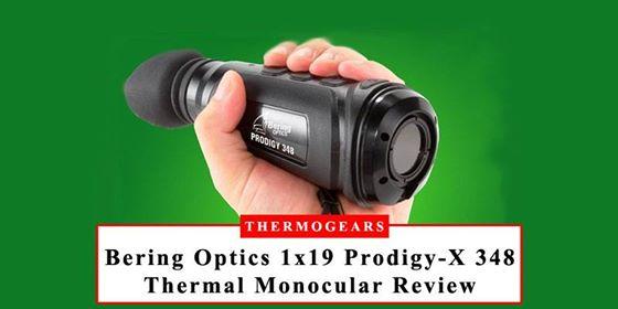 Bering Optics 348 x 288 Prodigy-X Thermal Monocular