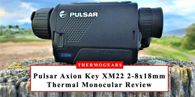 Pulsar Axion Key XM22 Thermal Imaging Monocular 6