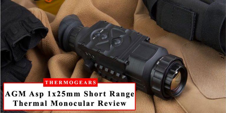 AGM Asp 1x25mm Short Range Thermal Imaging Monocular Review