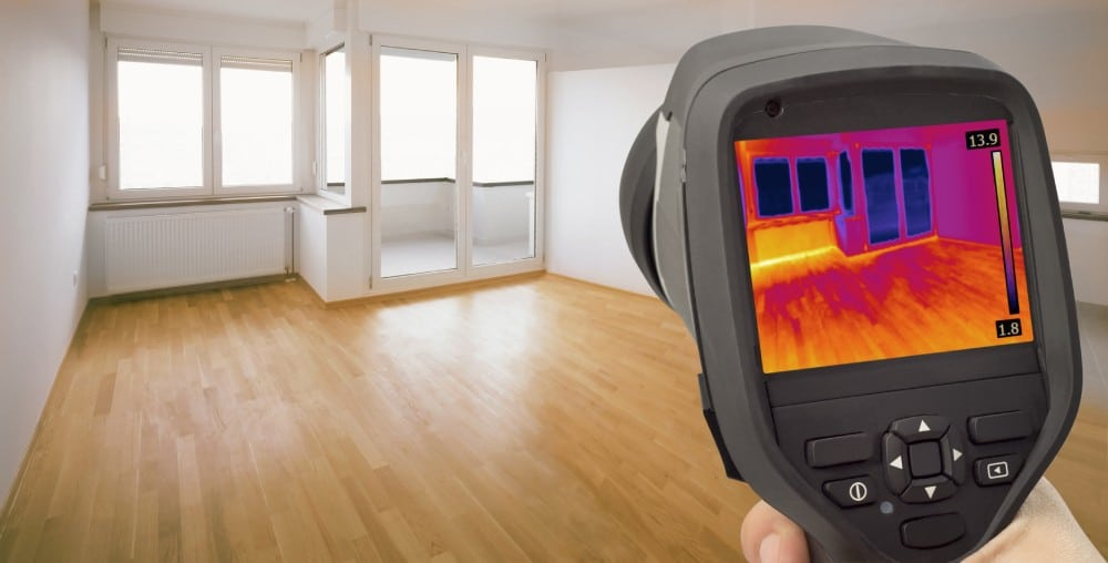 thermal camera for home inspection