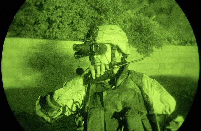 night vision light enhanced photography showing us army usa sergeant first f9d0fc